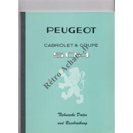 Peugeot 504 technische daten und beschreibung