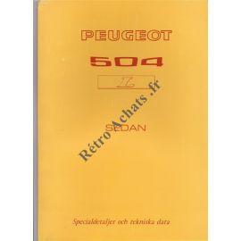 Peugeot 504 L sedan