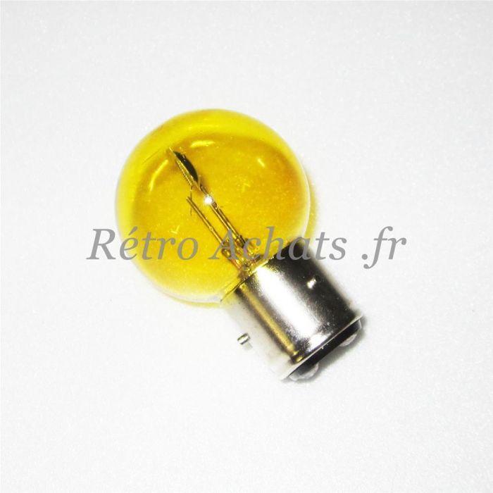 34f1428ea98b9 Ampoule 6 volts 40w Jaune