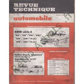 Revues techniques RTA BMW