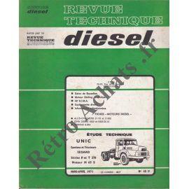 Revues techniques Camions diesels
